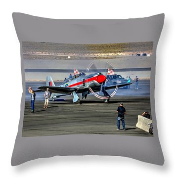 Dreadnought Startup Throw Pillow