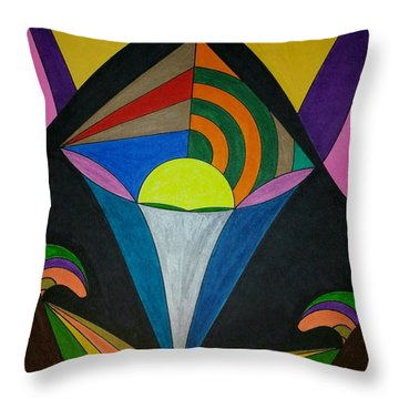 Dream 313 Throw Pillow