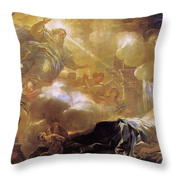 Dream Of Solomon Throw Pillow