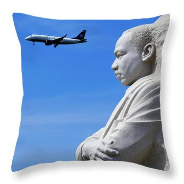 Throw Pillow featuring the photograph Dream by Skip Hunt