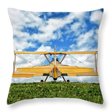 Dreaming Of Flight Throw Pillow