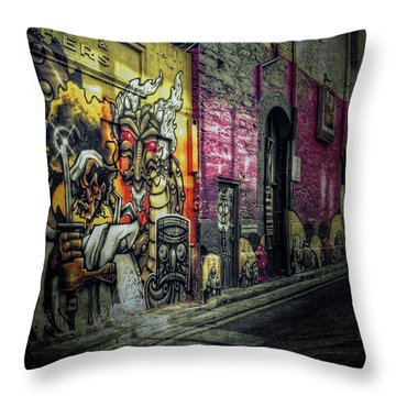 Throw Pillow featuring the photograph Dreamscape by Wayne Sherriff