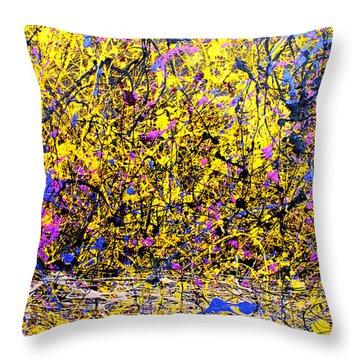 Dripx 1 Throw Pillow