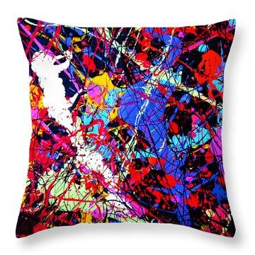 Dripx 12 Throw Pillow