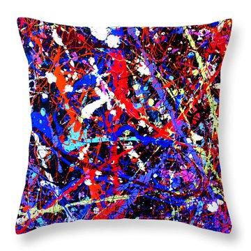 Dripx 13 Throw Pillow