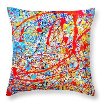 Dripx 4 Throw Pillow