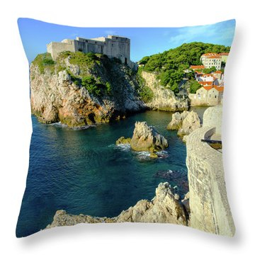 Dubrovnik, Croatia #3 Throw Pillow