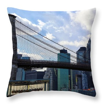 Throw Pillow featuring the photograph Dumbo by Mitch Cat