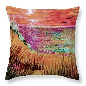 Dune Dreaming Throw Pillow