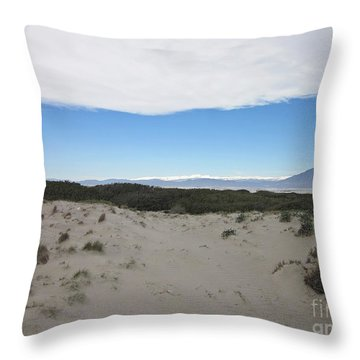 Dune In Roquetas De Mar Throw Pillow