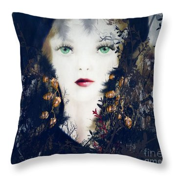 Earth North  Throw Pillow by Kim Prowse