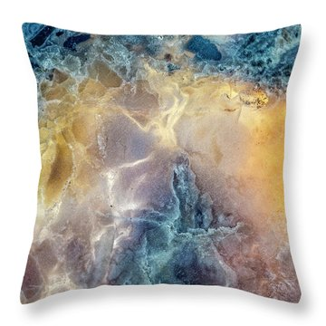 Throw Pillow featuring the photograph Earth Portrait by David Waldrop