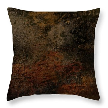 Earth Texture 2 Throw Pillow