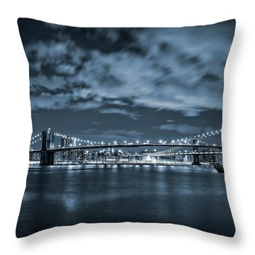 East River View Throw Pillow