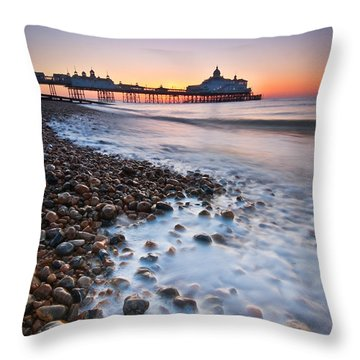Eastbourne Sunrise Throw Pillow