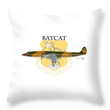 Ec-121r Batcat 6721498 Throw Pillow