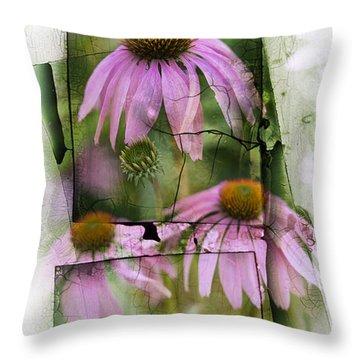 Coneflower Throw Pillows