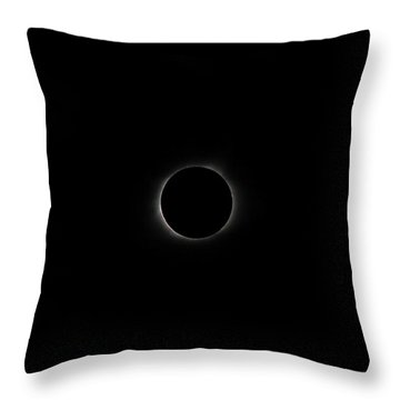 Eclipse 2017 Throw Pillow