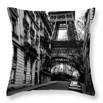 Only In Paris Throw Pillow