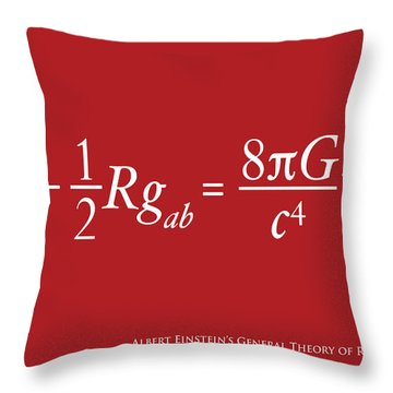 Einstein Throw Pillows