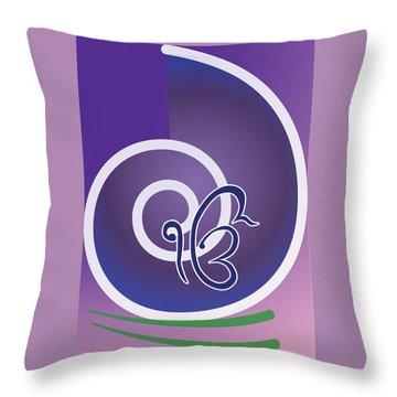 Ekonkar Throw Pillow