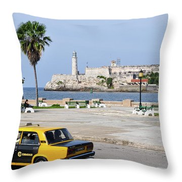 El Morro Throw Pillow