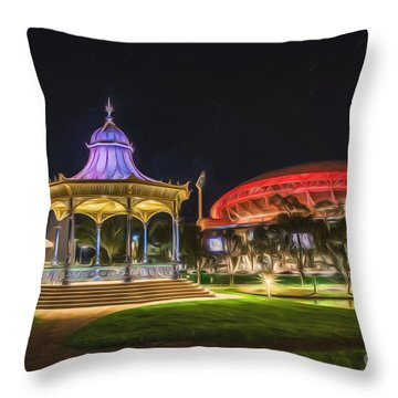 Elder Park Elegance Throw Pillow
