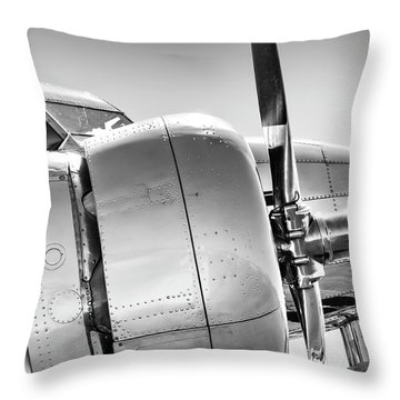 Electra Profile Throw Pillow