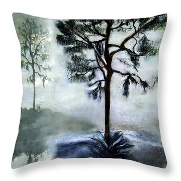 Elegy To A Tree Throw Pillow