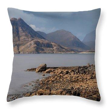 Elgol - Isle Of Skye Throw Pillow