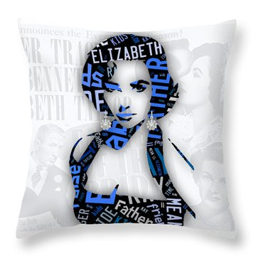 Elizabeth Taylor Father Of The Bride Movie Quotes Throw Pillow