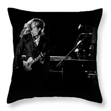 Elton John And Band In 2015 Throw Pillow