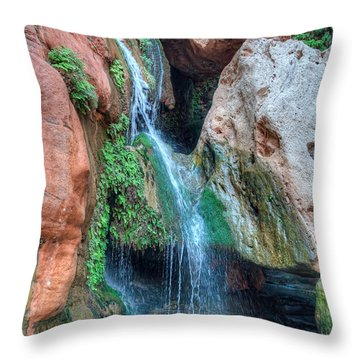 Elves Chasm Throw Pillow