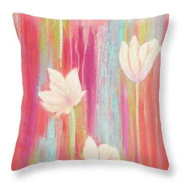 Simplicity 2 Throw Pillow by Irene Hurdle