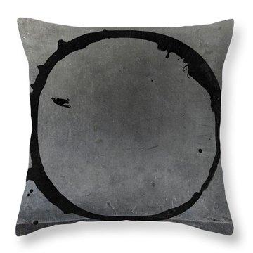 Enso 2017-27 Throw Pillow by Julie Niemela