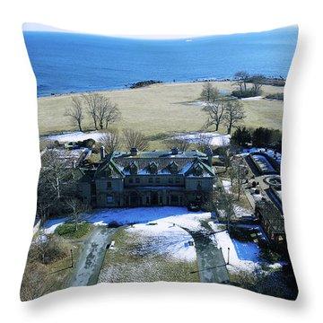 Eolia Mansion Throw Pillow