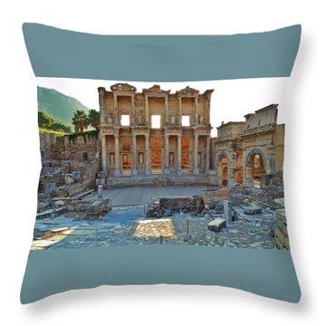 Ephesus Throw Pillow