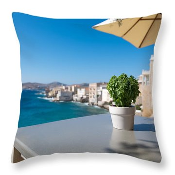 Ermoupoli - Syros / Greece. Throw Pillow