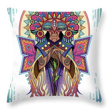 Espiritu 2 - Elder Throw Pillow