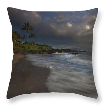 Evening Falls Throw Pillow by James Roemmling