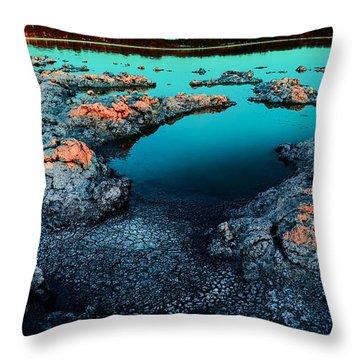 Evening In Lake Walyungup Throw Pillow