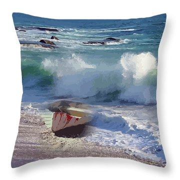 Everything Returns To It's Source Throw Pillow