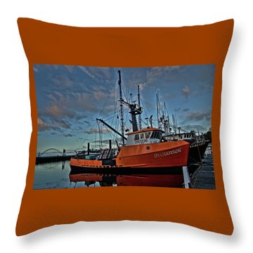 Throw Pillow featuring the photograph Evolution by Thom Zehrfeld