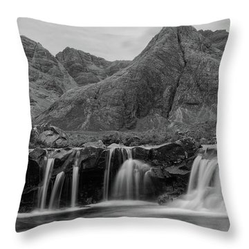 Fairy Pools Throw Pillow