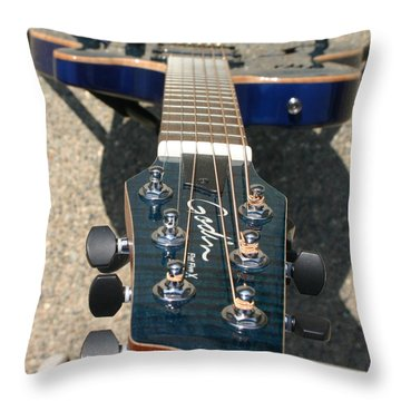 Throw Pillow featuring the photograph Fall Melody by Marie Neder