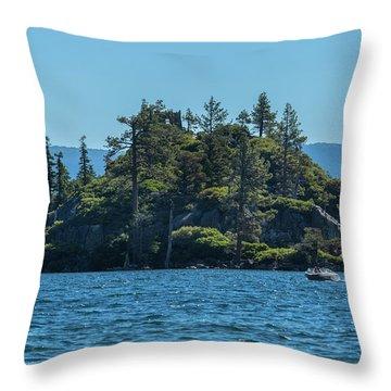 Fannette Island Throw Pillow