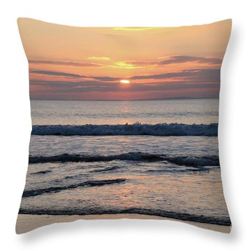Fanore Sunset 2 Throw Pillow