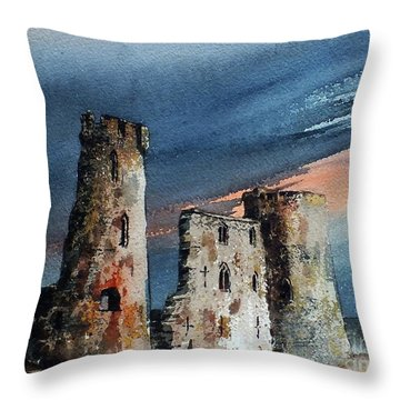 Ferns Castle, Wexford Throw Pillow