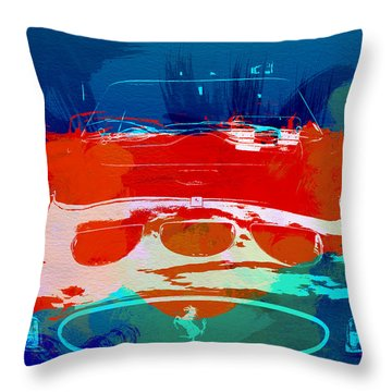Ferrari Gto Throw Pillow by Naxart Studio