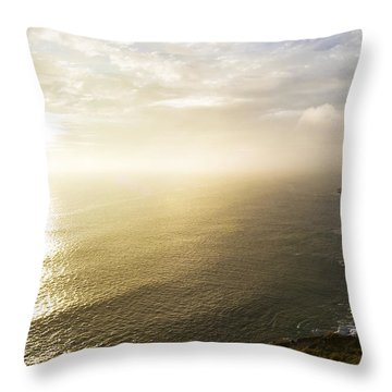 Filey Brig Throw Pillow by Svetlana Sewell